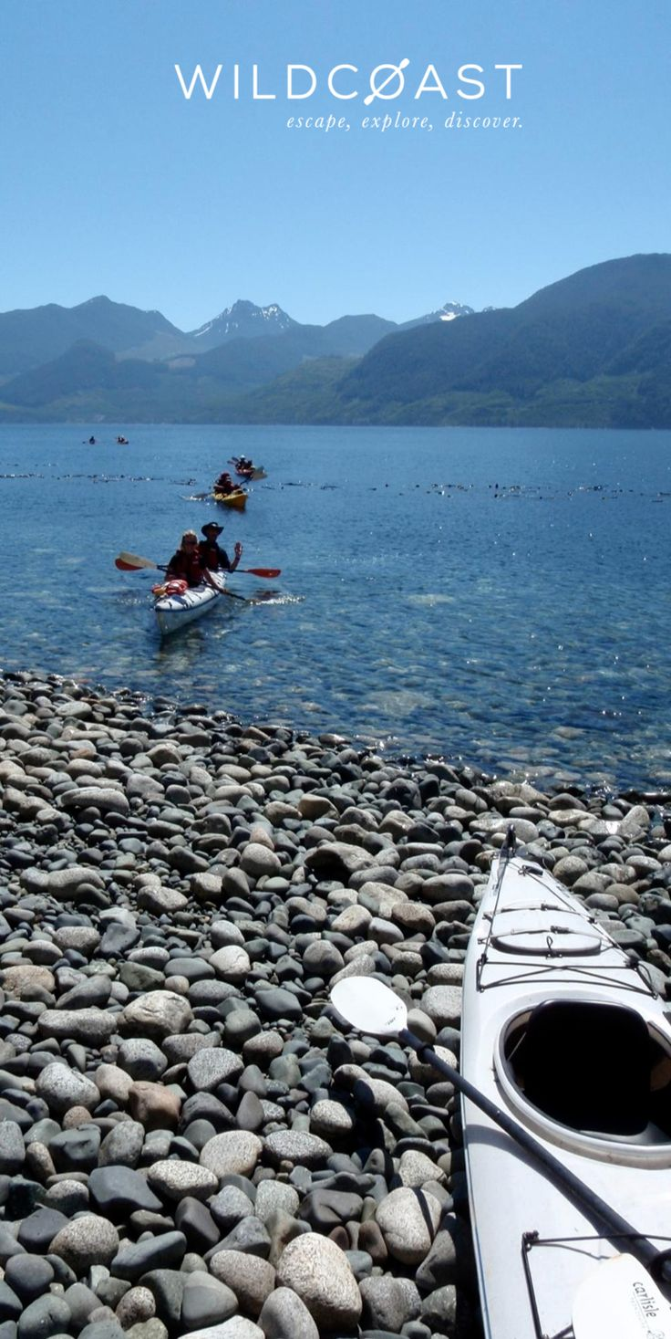 Kayaking in the Discovery Islands - great activity to do with friends!