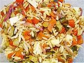 Chrissis Kritharaki - Salat (Rezept mit Bild) von Chrissi09 | Chefkoch.de