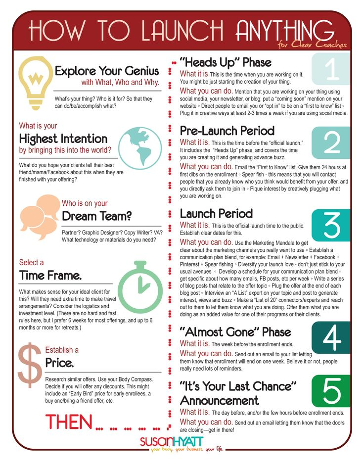 Launch tips for Life Coaches. Visit ideallifedesign.c... for info on coach program.