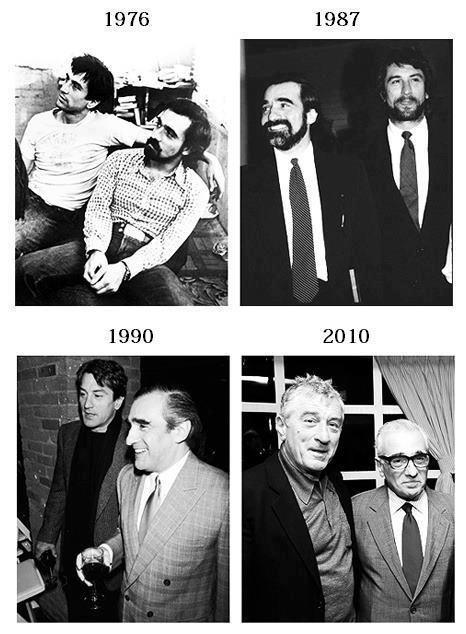 Beautiful Years pass by friends Robert De Niro Martin Scorsese