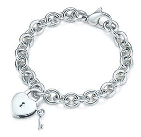 Tiffany & Co Heart And Key Bracelet