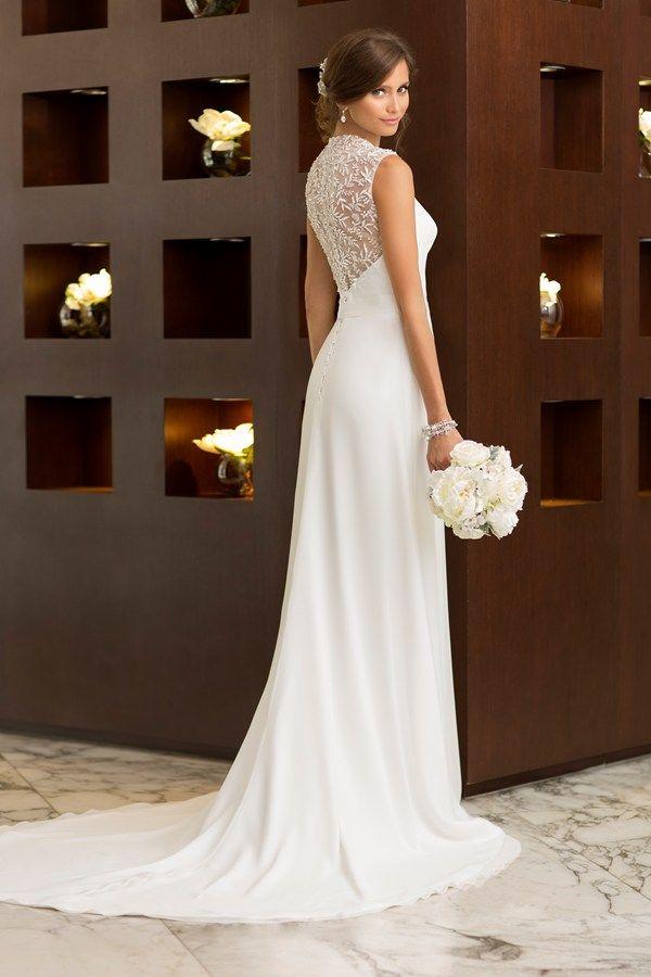 Wedding dress: Essense of Australia Bridal Collection