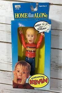 Vintage 1991 Home Alone Movie Screaming Kevin Macaulay Culkin Toy Headquarters | eBay