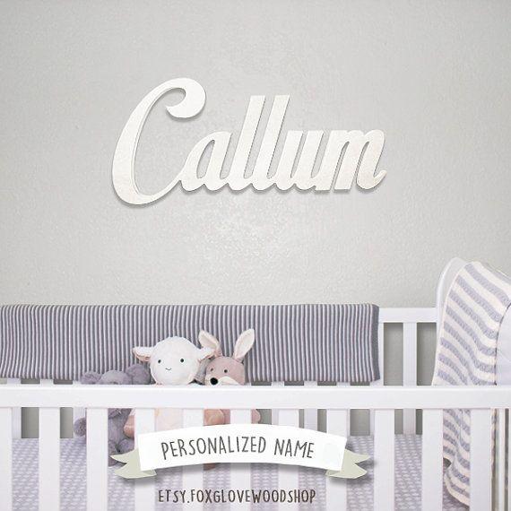 Cursive Wall Letters Fair 12 Best Name Signs Images On Pinterest  Cursive Engagement Design Inspiration