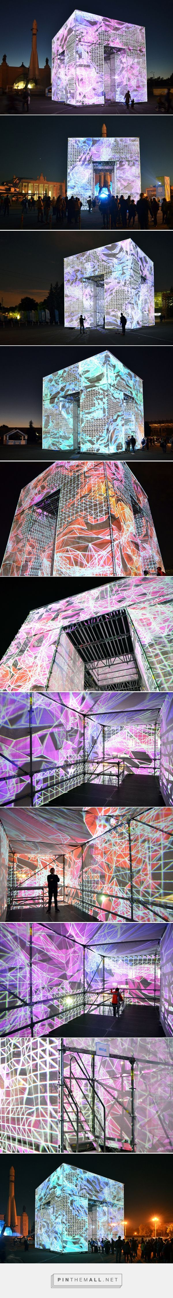 marcos zotes sites immersive digital P-cube in moscow's VDNKh park - created via https://pinthemall.net