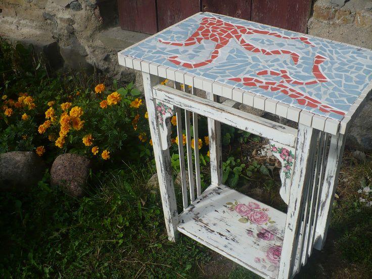stolik deco+mozaika
