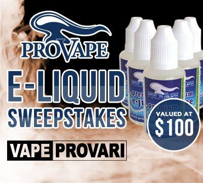 Win $100 E-Liquid Vaping Pack
