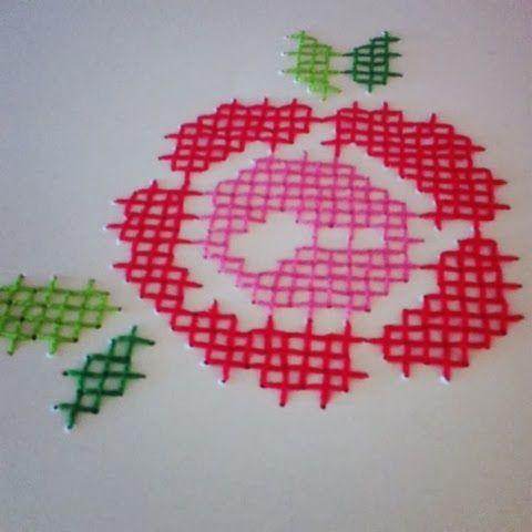 handmade by tati: כרטיס ברכה ותמונות שרקמתי על נייר