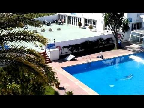 Salimos al balcón de la habitación en Hotel Nuevo Vichona #Sanxenxo www.nuevovichona.com #hotel #nuevovichona #Galicia