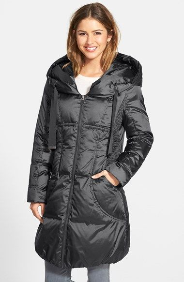 T Tahari 'Taryn' Hooded Down Coat available at #Nordstrom