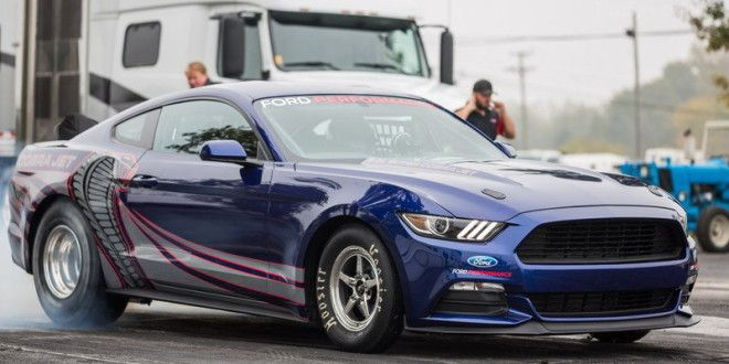 """2016 Ford Mustang Cobra Jet """"The new four-link rear suspension and electric water pump applications are firsts for Cobra Jet, which is engineered for performance at the track""""\ http://thevividworld.com/2016-ford-mustang-cobra-jet/"""