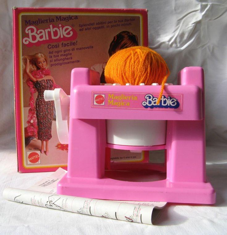vendo MAGLIERIA MAGICA BARBIE anni '80