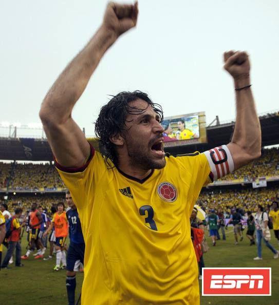 """Francisco Pacho Maturana:  """"Cuando se acabó la Copa América 2011, Mario Yepes, el capitán, empezó a llorar en el camerino y les dijo a los muchachos, llorando de manera imparable, que ellos no sabían lo que le costaba a él entrenar para poder estar a su altura, que él pensaba que esa era su última Selección y estaba muy dolido porque los habían eliminado, que se habían frustrado sus sueños""""  Hoy Mario dejó de llorar... hoy Mario está en Brasil 2014.   ¡VAMOS, COLOMBIA!"""
