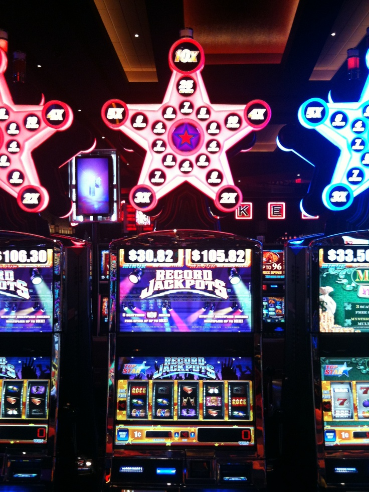 Slot machines at shooting star casino