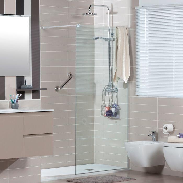 72 best BAÑOS images on Pinterest Bathroom, Modern bathrooms and - glastür für badezimmer