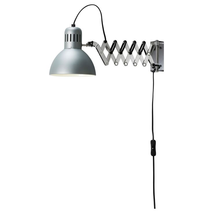 TERTIAL Wall/reading lamp - IKEA. Mounted above the lockers for more light could be fantastic, too.