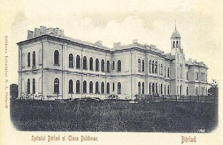 Barlad - Spitalul Elena Beldiman - interbelica