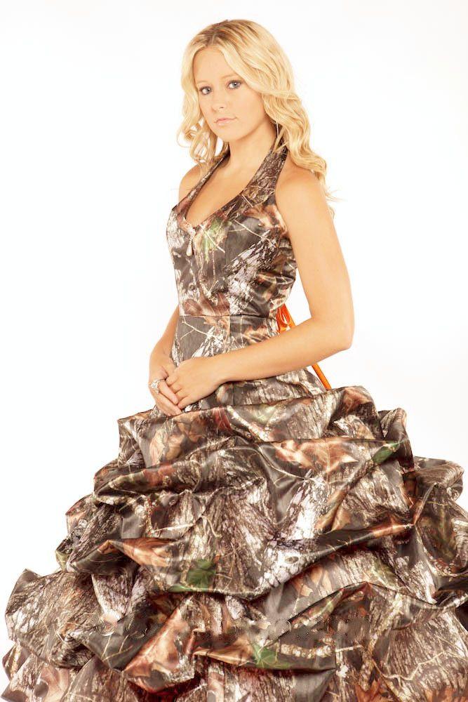Camouflage Wedding Dresses Mossy Oak