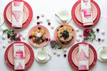 Tischdeko mit Mateus Keramik Geschirr #schwedischstyle #schwedischwohnen #schwedischesporzellan