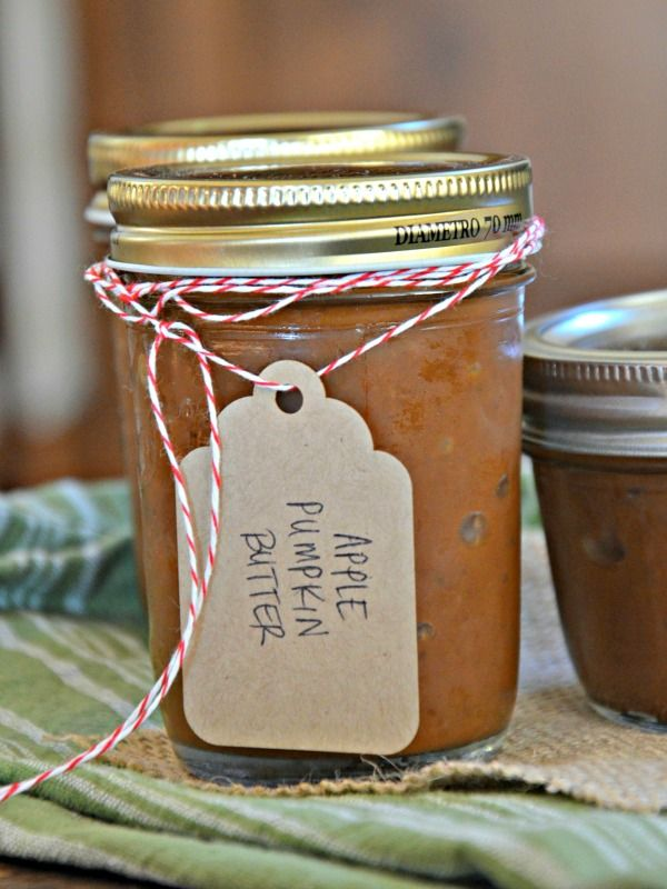 Slow Cooker Apple Pumpkin Butter Recipe using Hamilton Beach Slow Cooker, www.mountainmamacooks.com