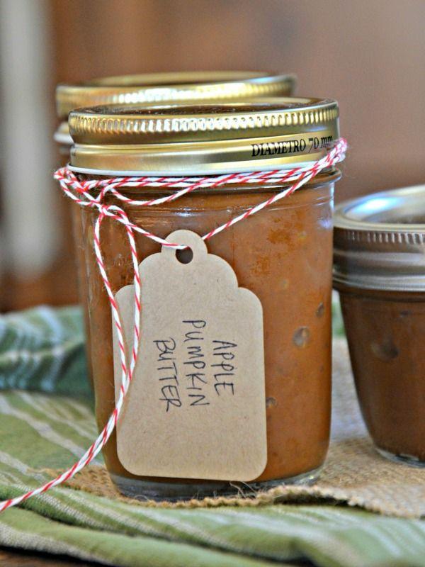 Slow Cooker Apple Pumpkin Butter!