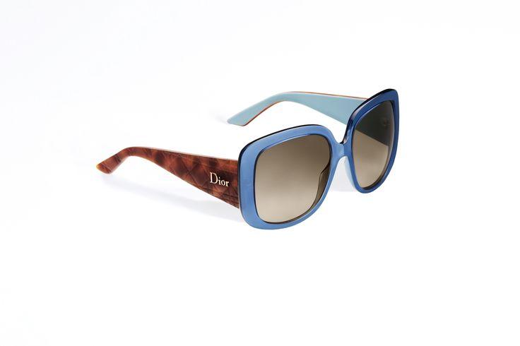"""Lunettes """"dior lady lady 1"""", bleu transparent et écaille - Accessoires Dior"""