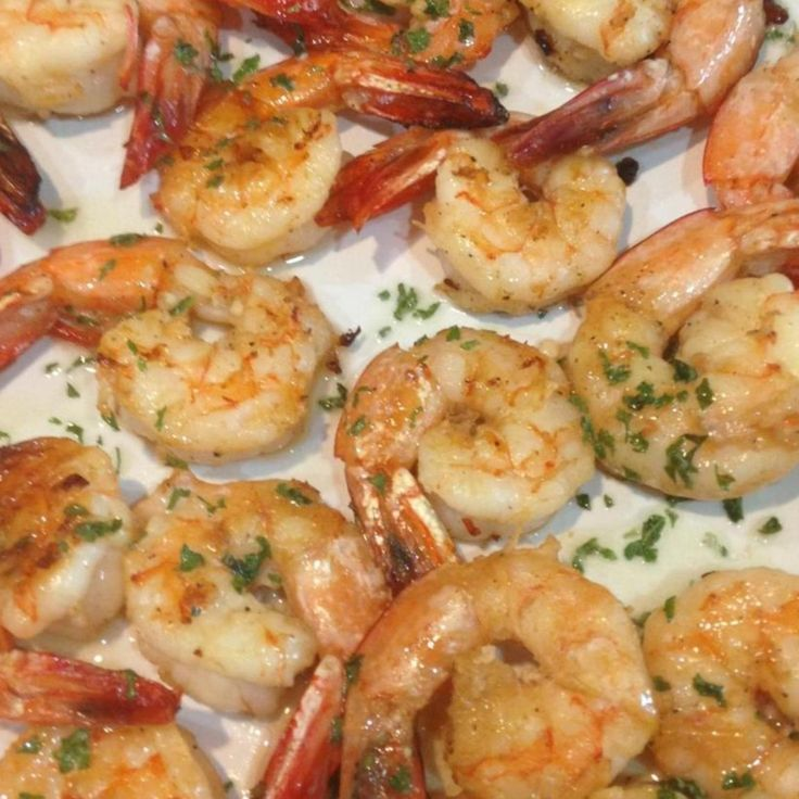 Shrimp in the Oven Recipes | Oven Grilled Shrimp Recipe | Just A Pinch Recipes. I did these for Thanksgiving and they were really good.