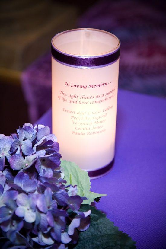 2. Memorial Candles - 7 Heartfelt Wedding Memorial Ideas ... | All Women Stalk