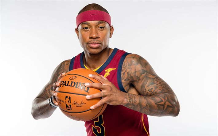 Download wallpapers Isaiah Thomas, 4k, NBA, basketball, Cleveland Cavaliers, CAVS, basketball players