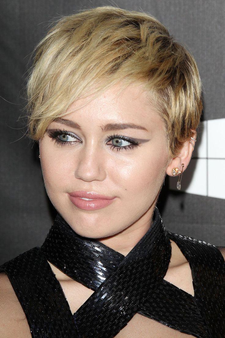 Miley Cyrus at the 2014 amfAR LA Inspiration Gala.
