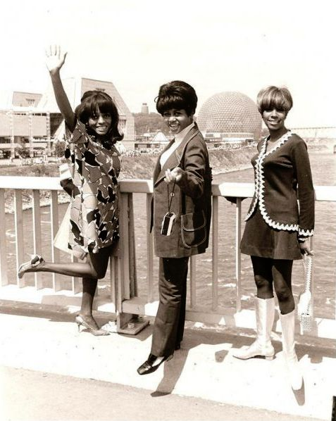 The Supremes at Expo 67, today known as  #LaRonde in Montreal, Canada #SixFlags