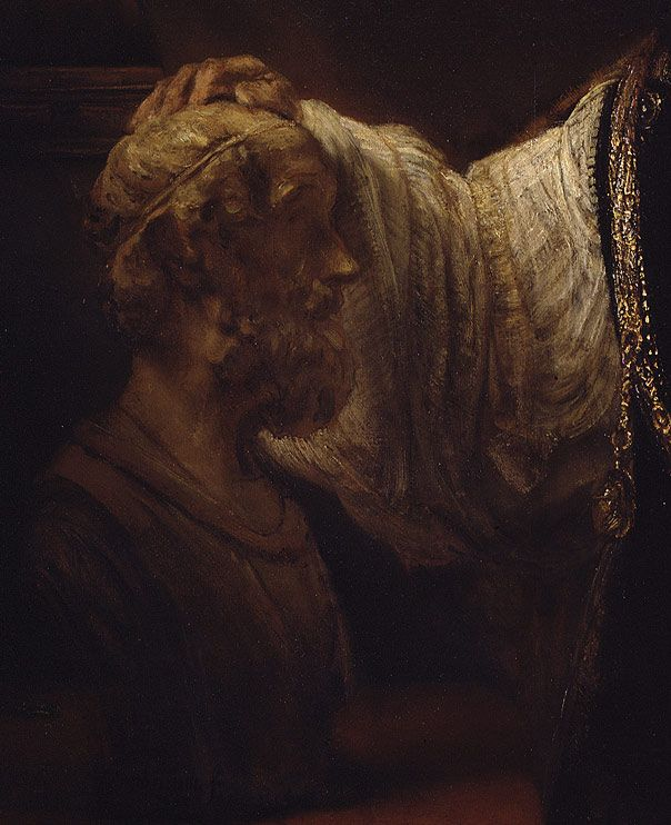 aristotle with a bust of homer essay Aristotle with a bust of homer, also known as aristotle contemplating a bust of homer, is an oil-on-canvas painting by rembrandt it was painted in 1653, as a.