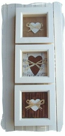 heart box frames...   www.bynicki.co.uk                                                                                                                                                                                 Más