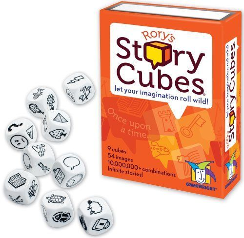 Rory's Story Cubes - Saw these in a giftshop and thought it would be great to use for the Daily 5 (writting centre). Let their imagination run wild!