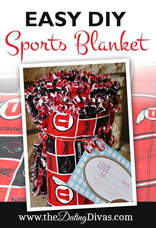 NCAA or NFL Blanket Extra Surprise | The Dating Divas