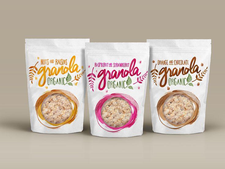 Granola #packaging by Teresa Gonçalves #design