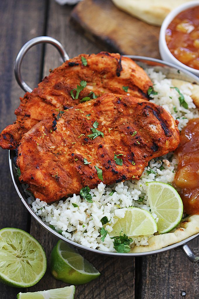 Tandoori chicken is a traditional Indian dish full of bold and spicy flavors! A 30 minute marinade and a few minutes on the grill will deliver this tasty dish!