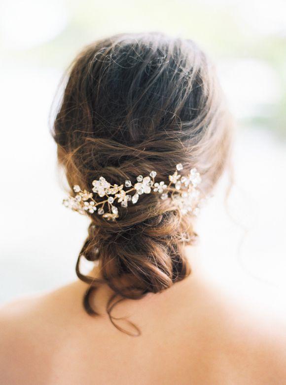 Bride La Boheme 2015 Headpiece Collection and Bridal Gown Inspiration | Wedding Sparrow | Loft Photography
