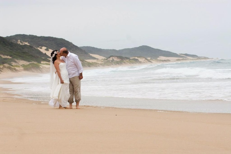 Thonga Beach Lodge is set within the high vegetated sand dunes of South Africa's KwaZulu-Natal northern coastal wilderness. Endless miles of beach washed by the warm Indian Ocean, fascinating wilderness environments - both in the ocean and along the coast line - makes for an exotic and remote wedding destination.