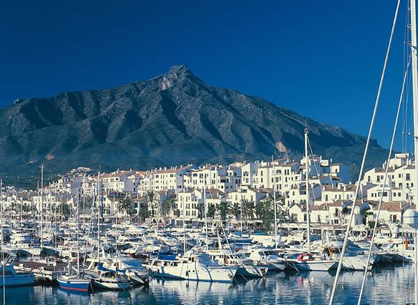 Puerto Banus, Spain. A.K.A Rodeo Drive on crack.  On the Costa del Sol.  Met a number of Brits here.