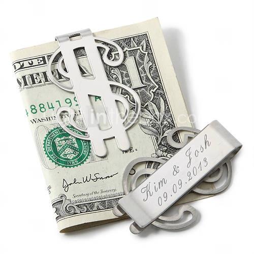 clipe de dinheiro personalizado - cifrão