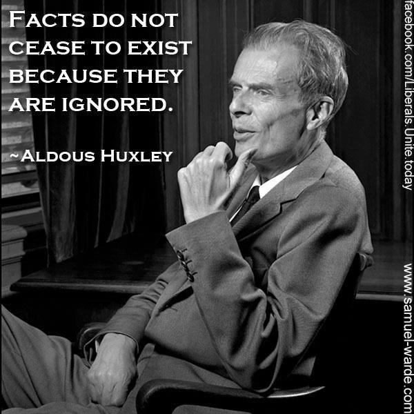 Brave New World. The Human Situation. What not? Sir Huxley, you're a legend.