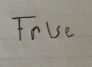 """Ambiguous """"true-false"""" answer: """"I hope this was a clever student's attempt to answer a question that he or she didn't know the answer to."""": Ambiguous True False, Student, High School, True False Question, My Life, Funny True Stuff, True False Answer, The Secret"""