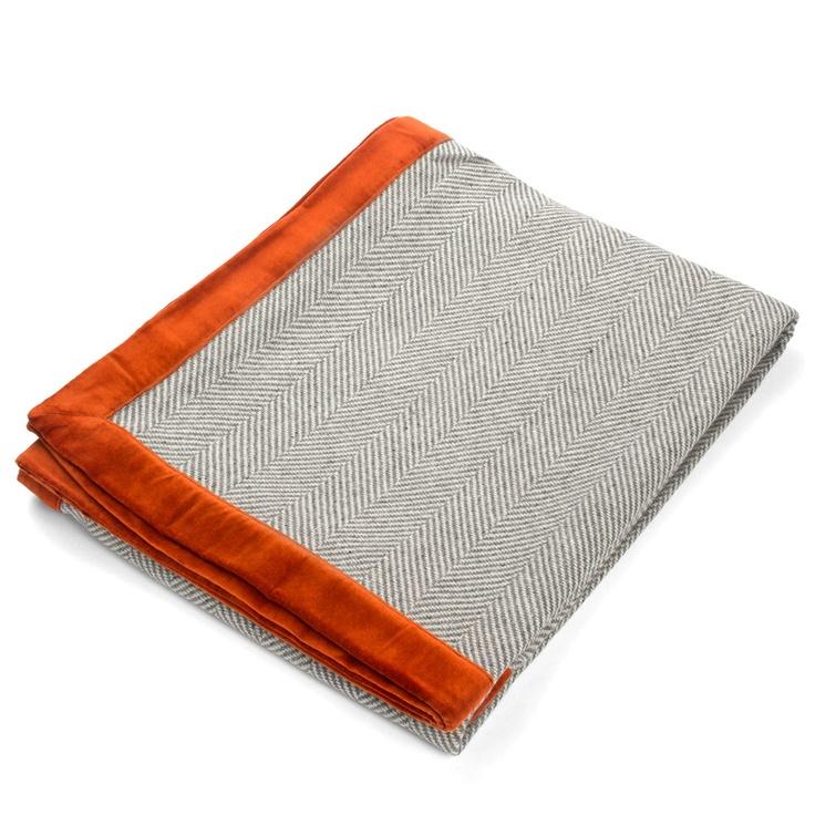 Linen & Moore - Rado Woollen Throw Rug