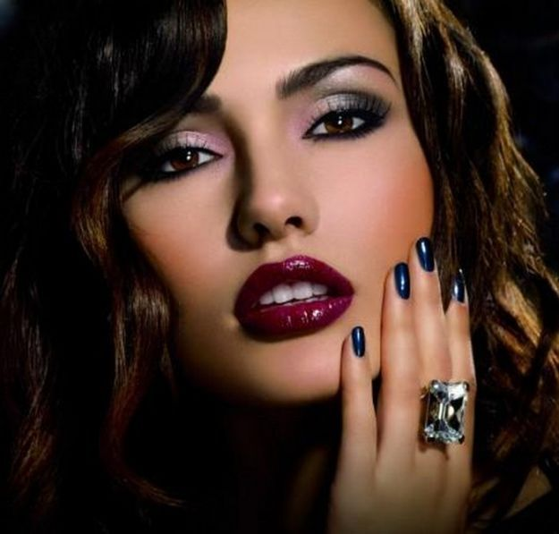 Гламурный летний макияж для вечера ::: onelady.ru ::: #makeup #eyes #eyemakeup