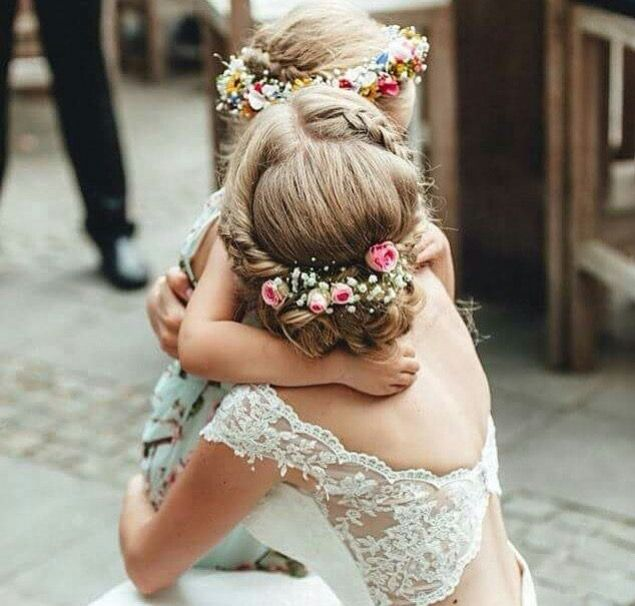 I love the flowers and the back of this dress