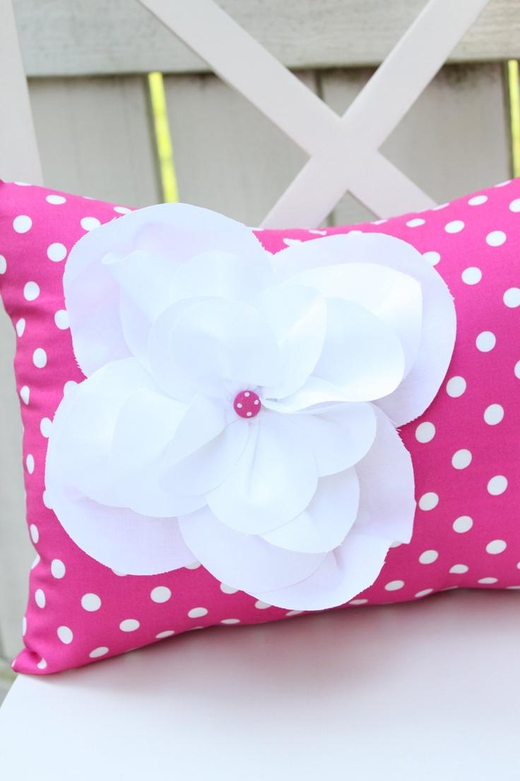 girly cute pillow