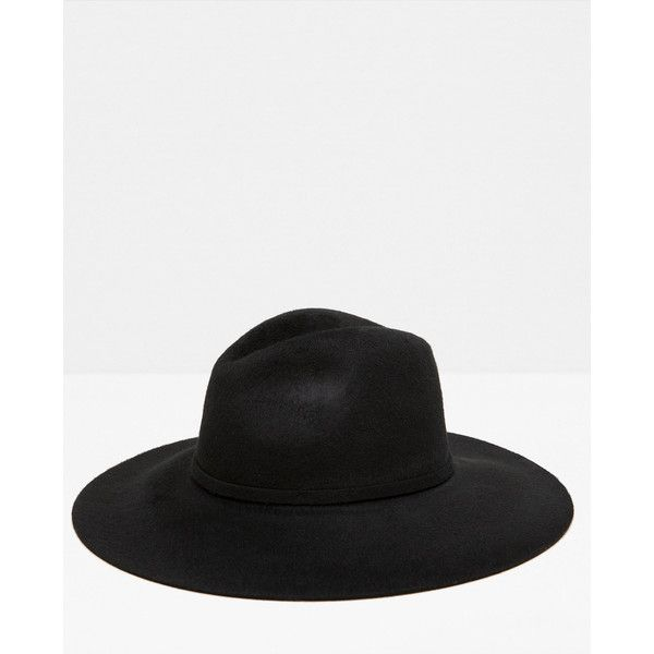 SUPERZACHTE SPECIAL EDITION HOED MET BREDE RAND -... ($56) ❤ liked on Polyvore featuring hats