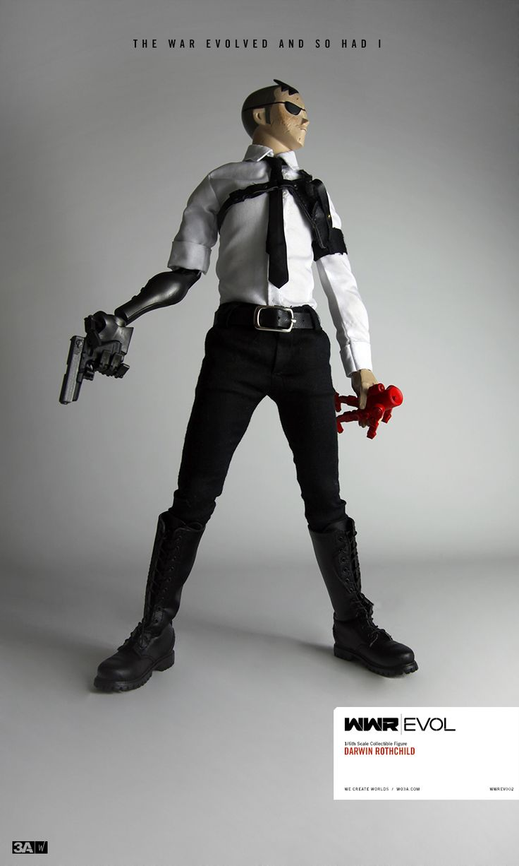 WWR Rothchild pre-order - The War Evolved And So Had I. 12th MAY IS EVOLVE DAY.  #threeA #AshleyWood