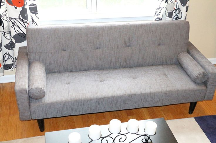 Amazon.com - Rust Plum Purple Convertible Sofa High Quailty High Density Futon Klik Klak Modern - Futon Mattresses